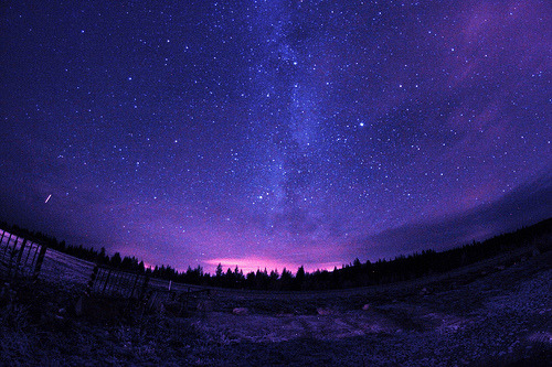"abatudes:  ""Trysil milkyway by StarHuntingTrysil, on Flickr"""
