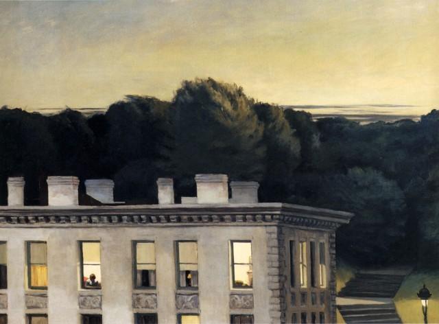 "Edward Hopper, ""House At Dusk"" 1935"