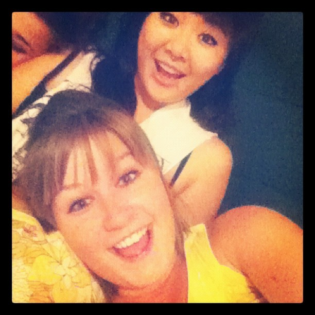 Hey. I love @fongzilla & @annalisabear . (Taken with Instagram)