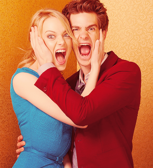 Emma Stone & Andrew Garfield | USA Weekend Photoshoot