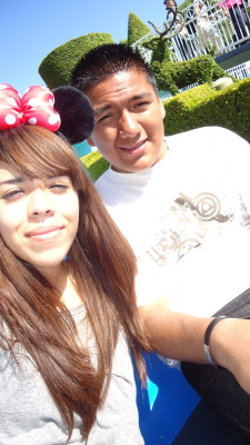 Me and my friend Ivanessa @Disneyland