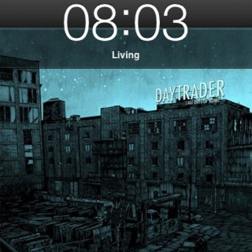 This mornings choice of 'on the way to work' music.  (Taken with Instagram)