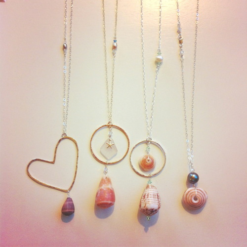 Shell Chic Maui Cone and Puka Shell Necklaces on their way to a lucky lady!  www.shellchicmaui.com