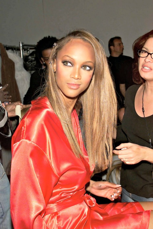 Tyra Banks Backstage