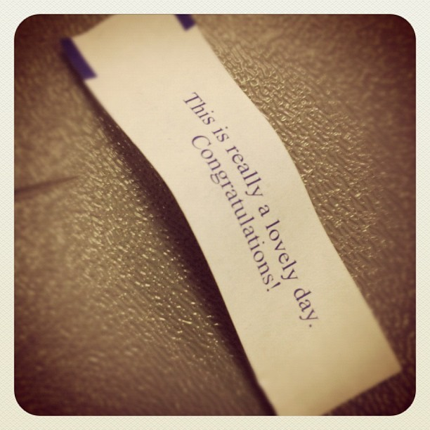 ..Last day of class…Bullshit. #fortune #chinese #EMS #stress #testing #fortunecookie #quotes #sayings #life #good #bad #sad #happy #stuckintime #emt  #depressed #work #class #confused #feelings #life #done #finished  (Taken with Instagram)