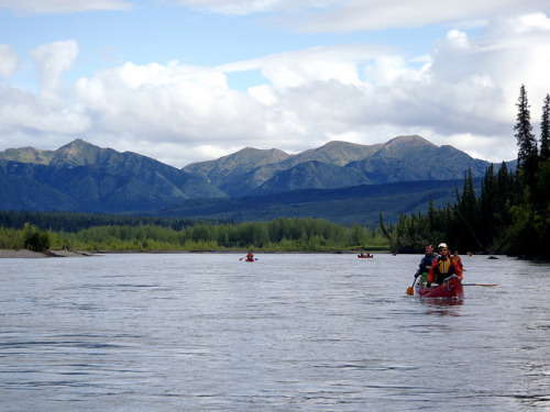Hess River and Mountains by markrhamlin on Flickr.Hess River, Yukon Territory. must go there someday!