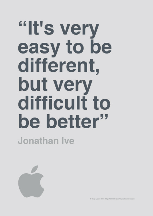serialthrillerinspiration:  It's very easy to be different…