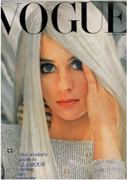 Jill Kennington cover of Vogue,1966