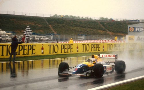 Nigel Mansell Williams - Renault Spain 1992
