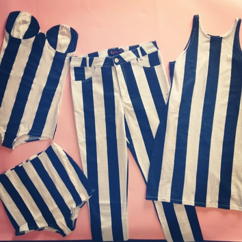motelrocks:  Stripezzzzz 🏁#stripes #stripy (Taken with Instagram)