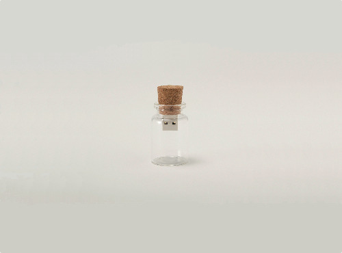 Blank USB by Saburo Sakata A message in a bottle in the digital era.
