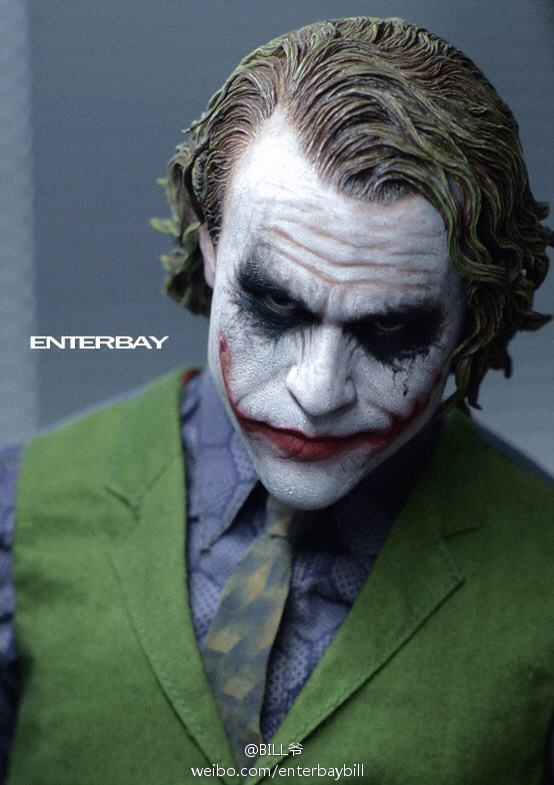 [TEASER] The Dark Knight: Joker 1:4 Scale HD Masterpiece - Enterbay