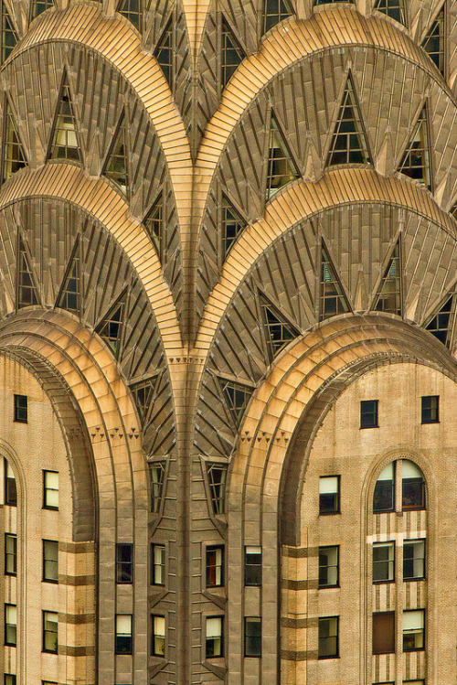 yoannmichaux:  Detail, Chrysler Building, NYC