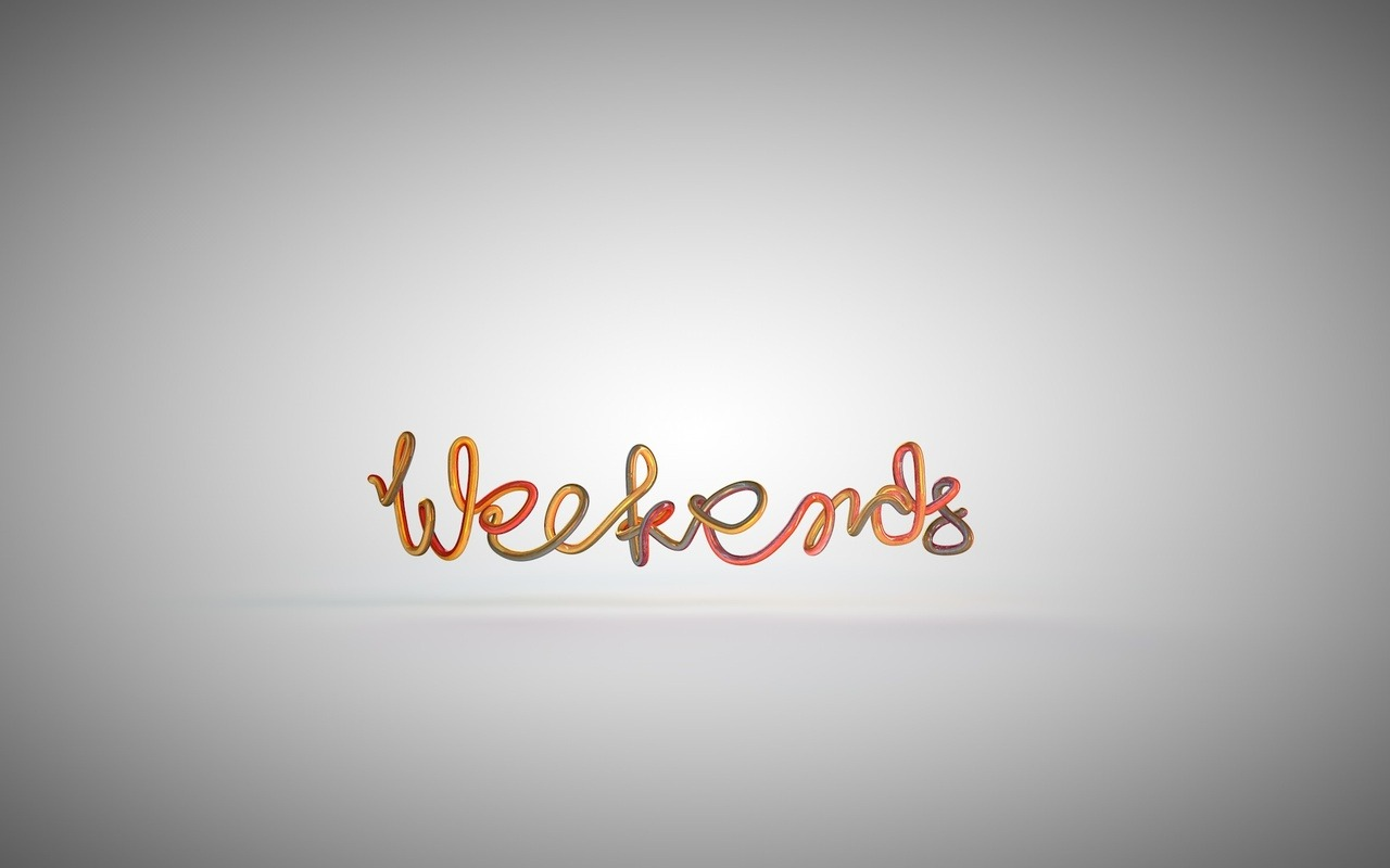 weekends typo
