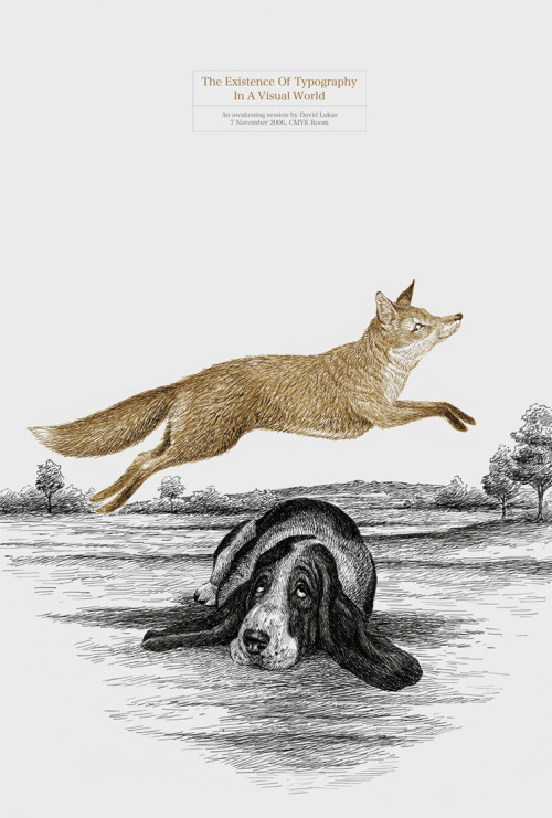 The quick brown fox jumps over the lazy dog…