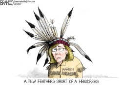 A Native American headdress