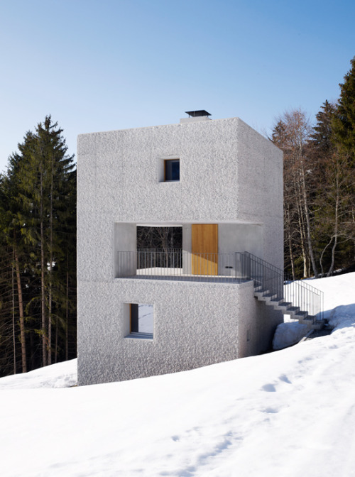 n-architektur:  MOUNTAIN RETREAT Laterns, Austria Marte Marte Architects