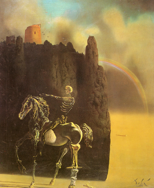Salvador Dalí - Rider of Death (1935)