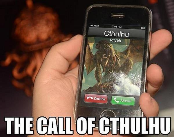 thesochillnetwork:  The Call of Cthulhu
