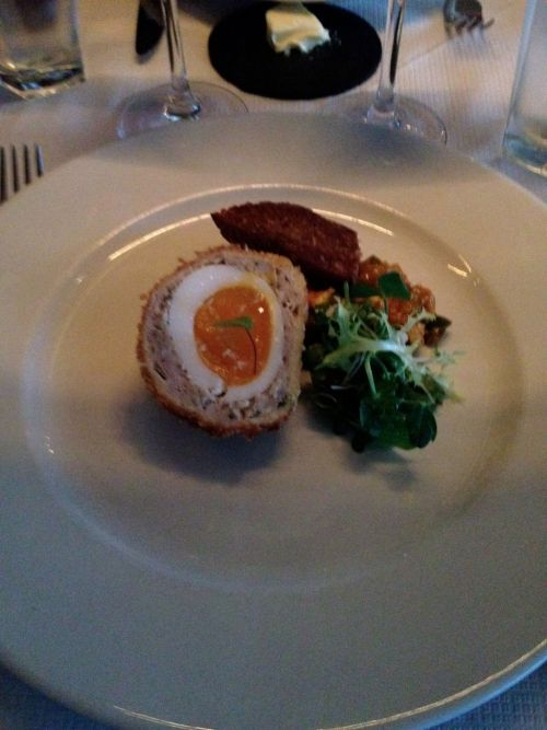 Photo courtesy of @gregorpoynton and his dinner at Northbank Restaurant in London