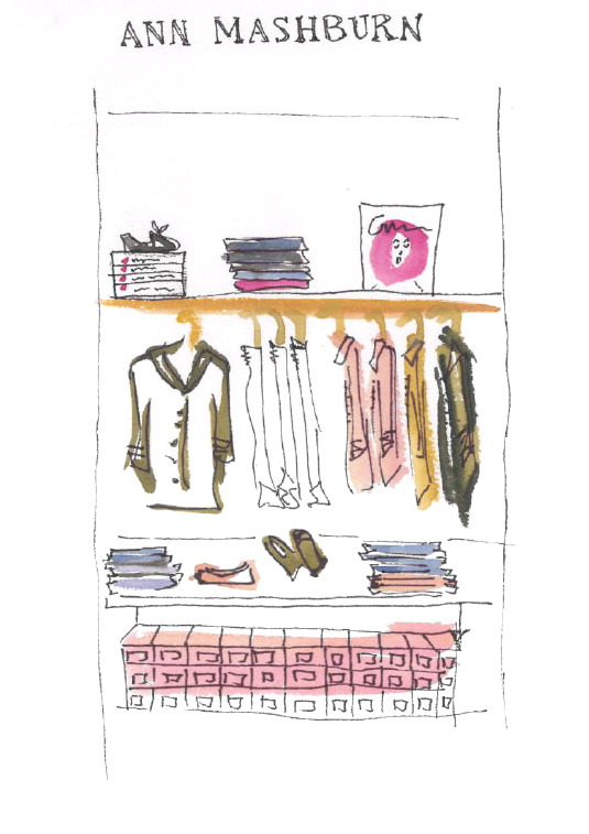 Ann Mashburn Store Review  Joanna Sullivan, A&H Magazine Sketch Artist Contributor  As summer collections come and go, the nature of this leisure season can sometimes seem as fleeting as a Gidget/Moondoggie summer romance. It is only at a store like Ann Mashburn that the beauty of summer truly seems to stand still. Upon arriving at this lovely boutique in an up-and-coming neighborhood in Atlanta, one is presented with an air of beauty that could only be equated to a Slim Aarons photograph. Perfect summery Parisian espadrilles in woven baskets kindly greet customers as they enter the store. Beautiful stacks of tailored popover shirts line the display tables in various hues. And a tall inspiration wall is filled to the brim with pictures and fabrics new and old that reveal the story behind this lifestyle gallery. Here the personnel are attentive and engaging, each possessing a warm personality and a passion for the brand. Whether one comes in to buy an Allegra Hicks book or just a neon Caran d'Ache ballpoint pen, each customer feels a sense of self-actualization that they chose to spend an afternoon on this side of paradise instead of another hum-drum day at the pool.