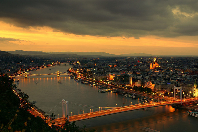 Budapest Sunset by dj.bp on Flickr.