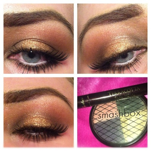 phoebeglamour:  🌟💰 #makeup #mac #smashbox #guerlain #nofilter (Taken with Instagram)