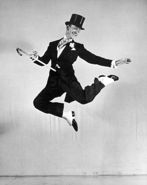 life:  June 22, 1987: Fred Astaire dies of pneumonia at the age of 88. Pictured: Fred Astaire executes a seemingly effortless leap in the 1946 film, Blue Skies. See more photos here.