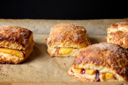 Joy the Baker is my homegirl! gastrogirl:  peach cobbler scones.