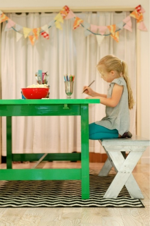 Home of Becky Brown (via Living With Kids: Design Mom)