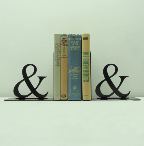 knobcreekmetalarts:  Ampersand Bookends
