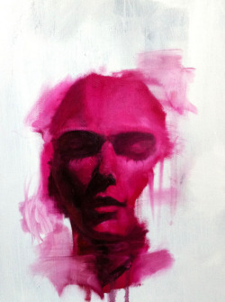 study 2 by **Tom French** oil on canvas