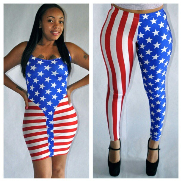 Ladies don't wait til the last minute to get your holiday outfit… the 4th is around the corner plus we running 20% off all in the stars & stripes section at www.GetPizazz.com  (Taken with Instagram)