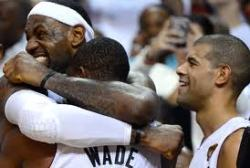 the heat are champions. Lebrons first ring