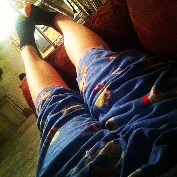 My wife's legs ! ;) (Taken with Instagram)