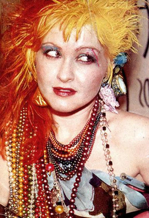 "24hrpartypeople:  Happy Birthday Cynthia Ann Stephanie ""Cyndi"" Lauper (born June 22, 1953   aw she's great"
