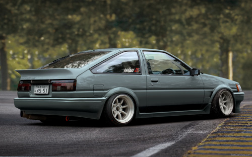 hollerdumped:  AE86
