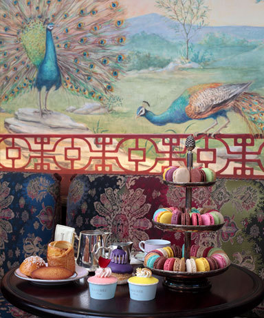 For a princess's tea time: The veranda at Ladurée