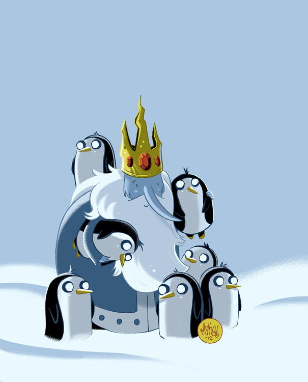 all-about-villains:  Ice King - by Mike Maihack