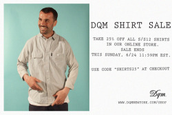 SWEET DEALS: 25% off Current Season  Shirts