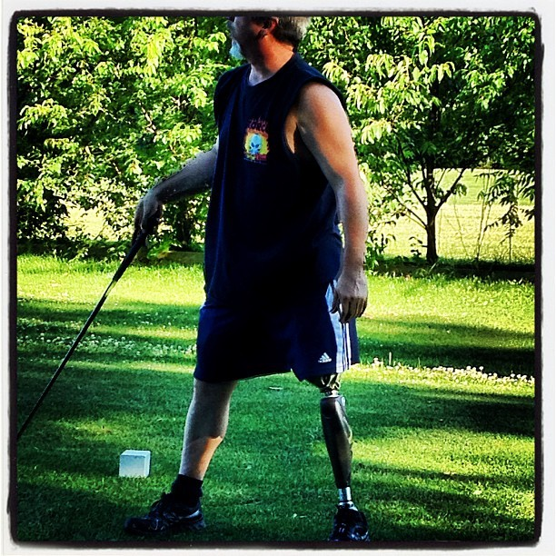 #photooftheday #golf #brotherinlaw (Taken with Instagram)