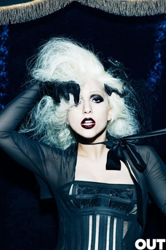 Lady Gaga - Photo-shoot at OUT Magazine.