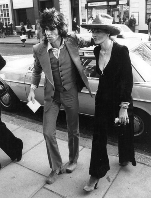 keith richards and anita pallenberg's perfectly chic and casual style. still an inspiration to this day.