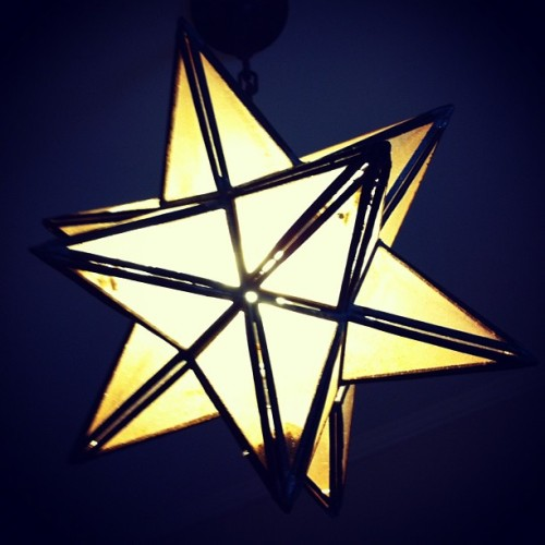 #star #light (Taken with Instagram)