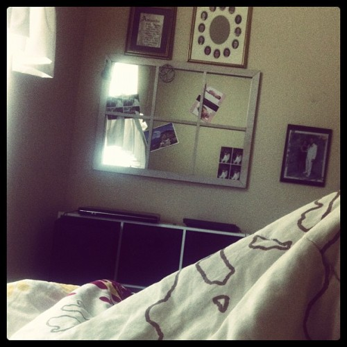 I think I'll just lay here all day.. <3 #summer #lazy  (Taken with Instagram)