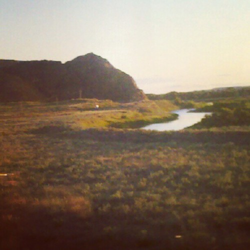 #Landscape #river #Montana #badlands (Taken with Instagram)