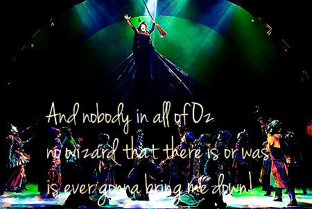 Defying Gravity from Wicked.