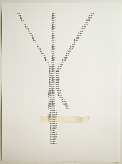 "sfmoma:  SUBMISSION: Together, 2012Ink, tape on paper9"" x 12""© Nikita Gale"