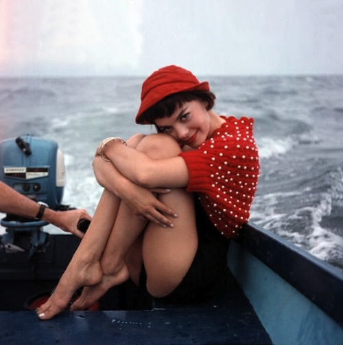 "gqfashion:  Your Morning Shot: Natalie Wood ""You know what I want? I want yesterday."""