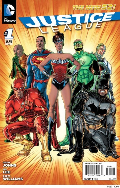 demonsee:   Justice League by Bill Mund